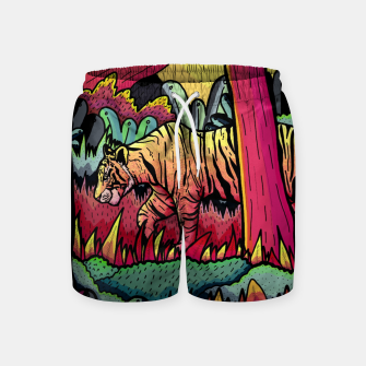A nighttime stroll Swim Shorts miniature
