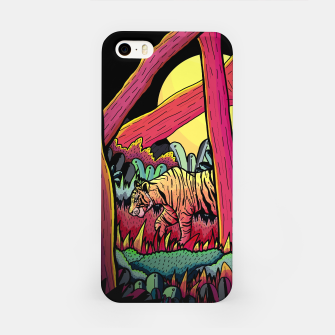 A nighttime stroll iPhone Case miniature