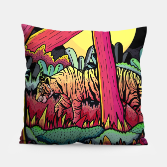 A nighttime stroll Pillow miniature