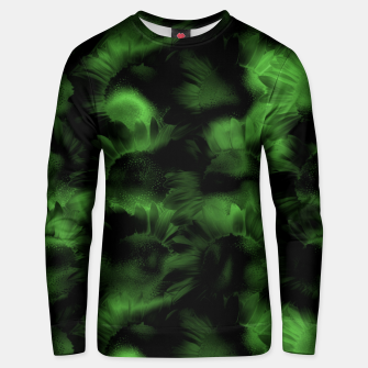 Thumbnail image of Emerald Flower Texture Unisex sweater, Live Heroes