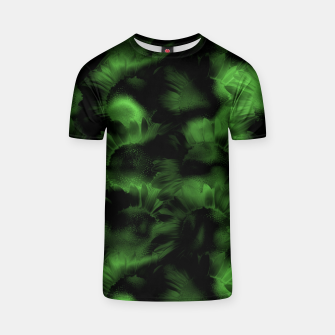 Thumbnail image of Emerald Flower Texture T-shirt, Live Heroes