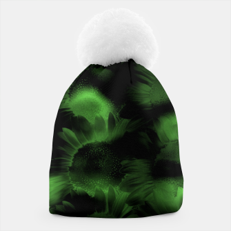 Thumbnail image of Emerald Flower Texture Beanie, Live Heroes