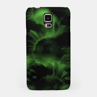 Thumbnail image of Emerald Flower Texture Samsung Case, Live Heroes