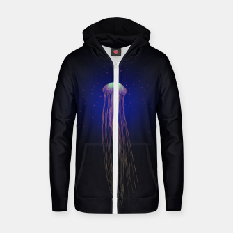 Thumbnail image of Jellyfish Zip up hoodie, Live Heroes