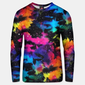 Thumbnail image of Tie Dye Rainbow Galaxy Unisex sweater, Live Heroes