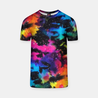 Thumbnail image of Tie Dye Rainbow Galaxy T-shirt, Live Heroes