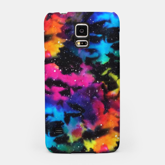 Thumbnail image of Tie Dye Rainbow Galaxy Samsung Case, Live Heroes