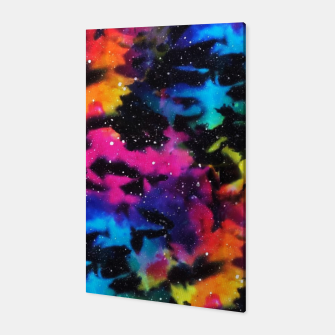 Thumbnail image of Tie Dye Rainbow Galaxy Canvas, Live Heroes