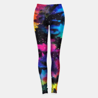 Tie Dye Rainbow Galaxy Leggings thumbnail image