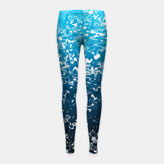 Miniaturka Sea Blues Girl's leggings, Live Heroes