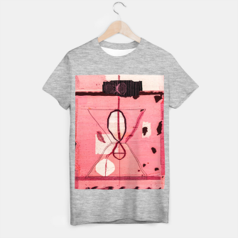 Thumbnail image of Oriental Moroccan Pink & Black Artwork T-shirt regular, Live Heroes