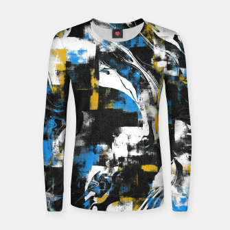 Abstract Flow I Women sweater obraz miniatury