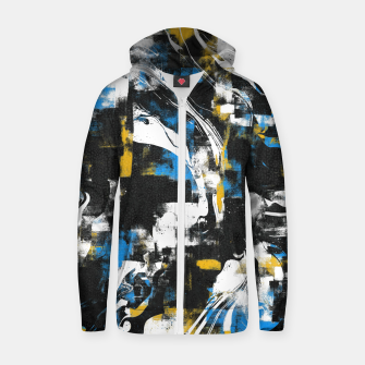 Abstract Flow I Zip up hoodie obraz miniatury