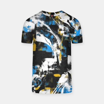 Abstract Flow I T-shirt obraz miniatury