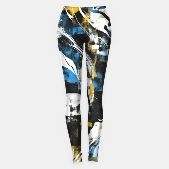 Abstract Flow I Leggings obraz miniatury