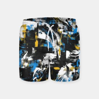 Miniaturka Abstract Flow I Swim Shorts, Live Heroes