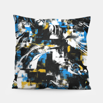 Miniatur Abstract Flow I Pillow, Live Heroes