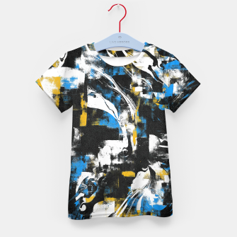 Abstract Flow I Kid's t-shirt obraz miniatury