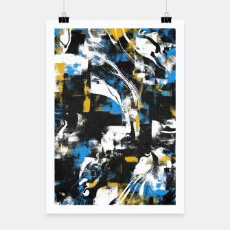 Abstract Flow I Poster obraz miniatury