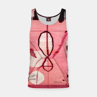 Thumbnail image of Oriental Moroccan Pink & Black Artwork Tank Top, Live Heroes