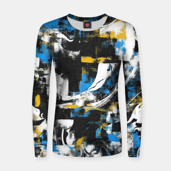 Miniaturka Abstract Flow I Women sweater, Live Heroes