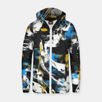 Miniaturka Abstract Flow I Zip up hoodie, Live Heroes