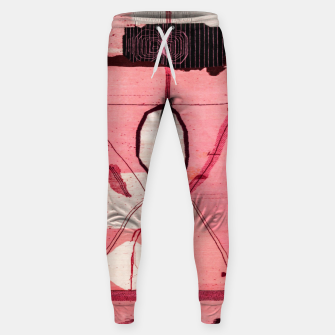 Thumbnail image of Oriental Moroccan Pink & Black Artwork Sweatpants, Live Heroes