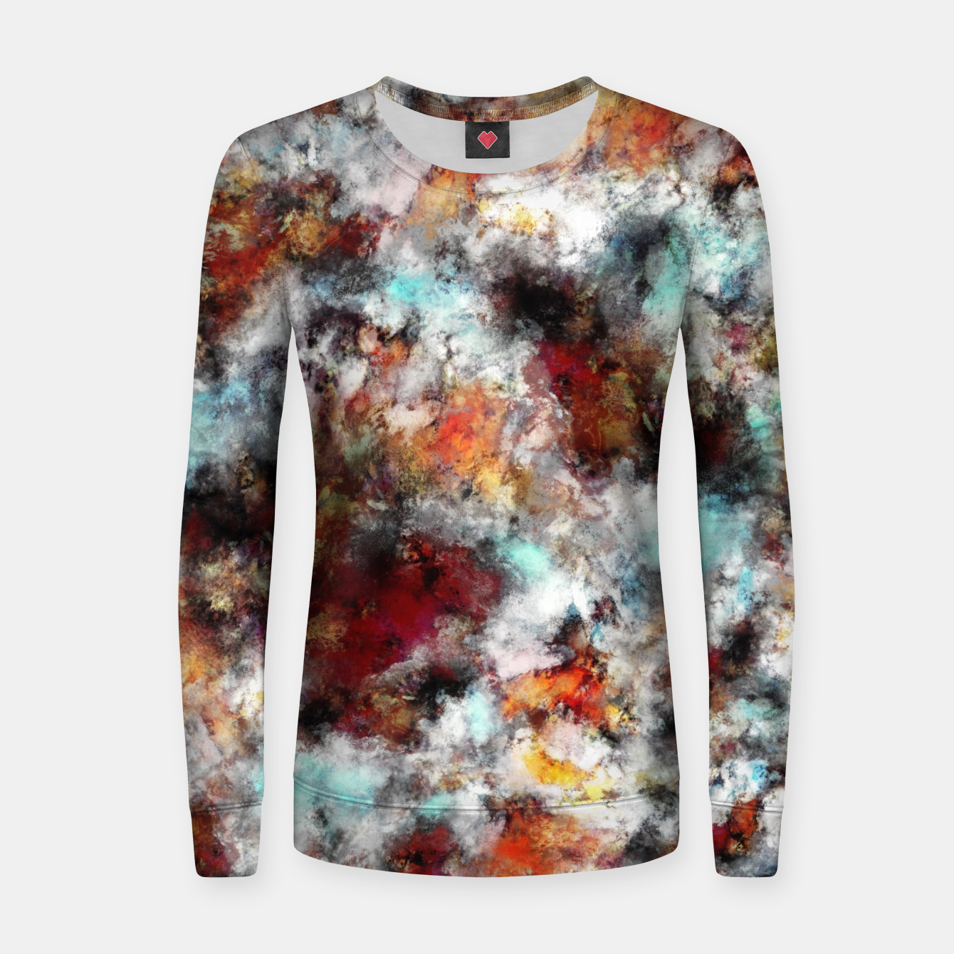 Image of Volcanic ice Women sweater - Live Heroes
