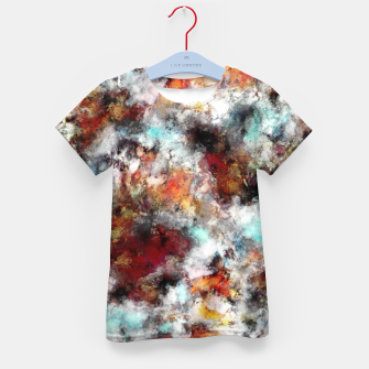 Thumbnail image of Volcanic ice Kid's t-shirt, Live Heroes