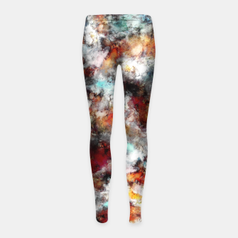Volcanic ice Girl's leggings thumbnail image