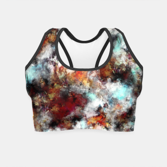 Volcanic ice Crop Top thumbnail image