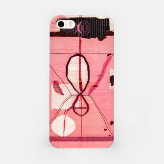 Thumbnail image of Oriental Moroccan Pink & Black Artwork iPhone Case, Live Heroes