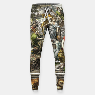 Thumbnail image of Old Cartographic Map Line Art Sweatpants, Live Heroes