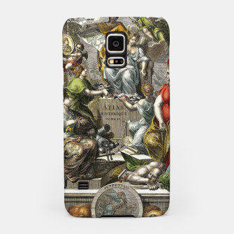 Thumbnail image of Old Cartographic Map Line Art Samsung Case, Live Heroes