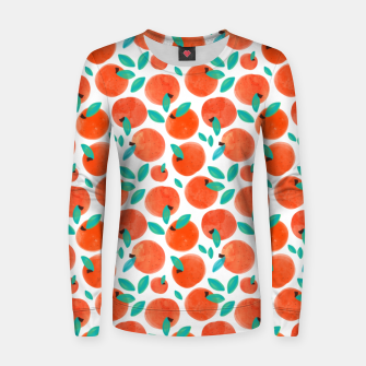 Thumbnail image of Coral Fruit Women sweater, Live Heroes