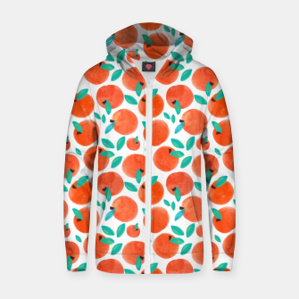 Thumbnail image of Coral Fruit Zip up hoodie, Live Heroes