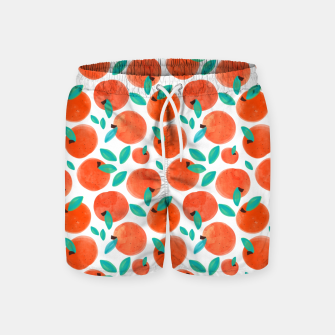 Thumbnail image of Coral Fruit Swim Shorts, Live Heroes