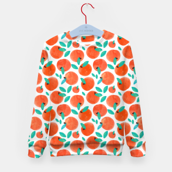 Thumbnail image of Coral Fruit Kid's sweater, Live Heroes