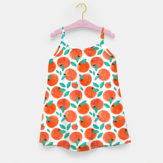 Thumbnail image of Coral Fruit Girl's dress, Live Heroes