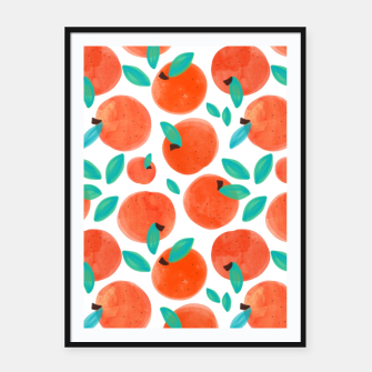Thumbnail image of Coral Fruit Framed poster, Live Heroes