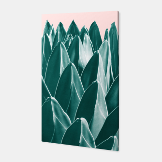 Thumbnail image of Agave Chic #1 #succulent #decor #art Canvas, Live Heroes