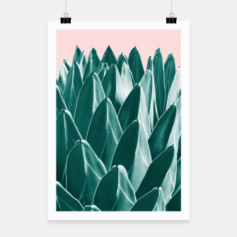Thumbnail image of Agave Chic #1 #succulent #decor #art Plakat, Live Heroes
