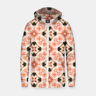 Thumbnail image of Blush Mandala Zip up hoodie, Live Heroes