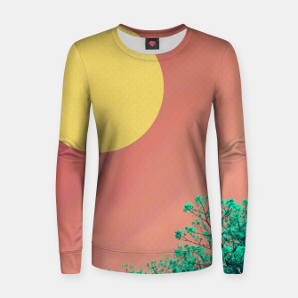 Thumbnail image of Sky and flowers 2 Women sweater, Live Heroes