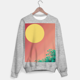 Thumbnail image of Sky and flowers 2 Sweater regular, Live Heroes