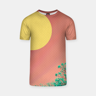Thumbnail image of Sky and flowers 2 T-shirt, Live Heroes