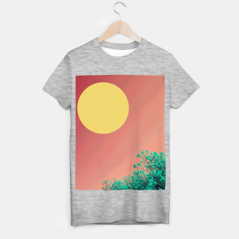 Thumbnail image of Sky and flowers 2 T-shirt regular, Live Heroes