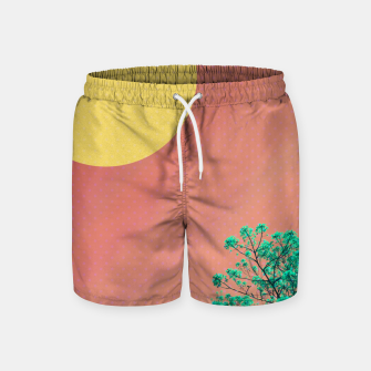 Thumbnail image of Sky and flowers 2 Swim Shorts, Live Heroes