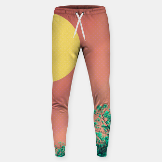 Thumbnail image of Sky and flowers 2 Sweatpants, Live Heroes