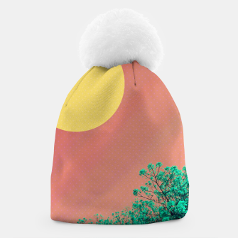 Thumbnail image of Sky and flowers 2 Beanie, Live Heroes